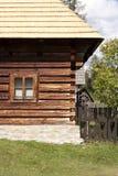 Vecchio villaggio slovacco Fotografie Stock