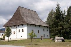 Vecchio villaggio slovacco Immagini Stock
