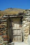 Vecchio villaggio spagnolo Fotografia Stock