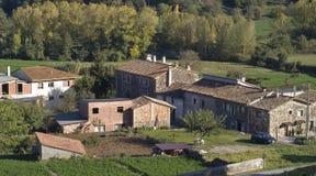 Vecchio villaggio spagnolo Fotografie Stock Libere da Diritti