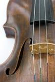 Vecchio violino Fotografia Stock Libera da Diritti