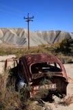 Vecchio Volkswagen arrugginito Fotografia Stock Libera da Diritti
