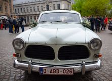 Vecchio Volvo Amazon fotografie stock