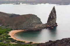 Vecchio vulcano, Galapagos Fotografia Stock Libera da Diritti