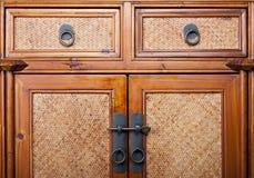 Vecchio wardrope Fotografia Stock