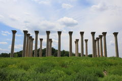 Vecchio Washington DC capitale delle colonne Fotografia Stock
