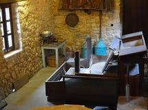 Vecchio watermill Immagini Stock Libere da Diritti