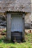 Vecchio WC Fotografia Stock Libera da Diritti