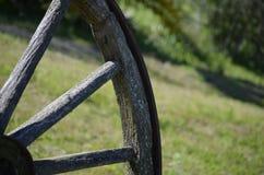 Vecchio whel del carretto Fotografia Stock