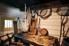 Vecchio workshop Fotografie Stock