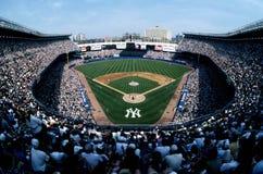 Vecchio Yankee Stadium fotografie stock