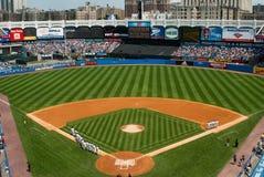 Vecchio Yankee Stadium storico, Bronx, New York fotografie stock libere da diritti
