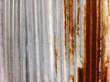 Vecchio zinco Immagini Stock Libere da Diritti