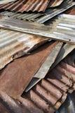 Vecchio zinco Fotografia Stock