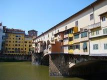 Vecchiobrug van Ponte in Florence Royalty-vrije Stock Foto's