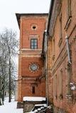 Vecgulbene-Landsitz Rotes Schloss in Gulbene, Lettland Stockfotografie