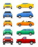 Vechicle dell'automobile isolato su bianco royalty illustrazione gratis