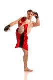 Vechter MMA Stock Foto's