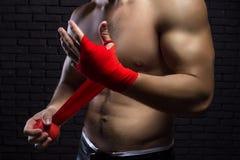 Vechter MMA royalty-vrije stock foto's