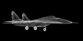 Vechtersvliegtuig Royalty-vrije Stock Foto's