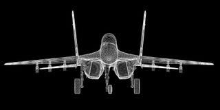 Vechtersvliegtuig Stock Afbeelding