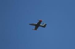 Vechtersvliegtuigen Aermacchi stock afbeeldingen