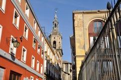 Vecindad antigua, Vitoria (España) Fotografía de archivo