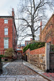 Vecindad Boston céntrica Massachusetts de Beacon Hill de América fotos de archivo libres de regalías