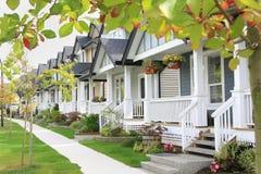 Vecindad cómoda Foto de archivo libre de regalías