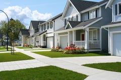 Vecindad cómoda Imagen de archivo libre de regalías