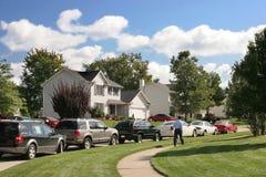 Vecindad cómoda Fotos de archivo