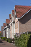 Vecindad de clase media Fotografía de archivo libre de regalías