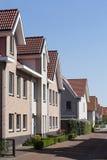 Vecindad de clase media Foto de archivo