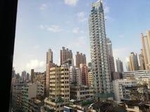 Vecindad de Hong-Kong fotografía de archivo