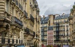 Vecindad de París Fotografía de archivo libre de regalías