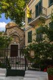 Vecindad de Plaka en Atenas Fotos de archivo