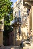 Vecindad de Plaka en Atenas Imagenes de archivo