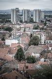 Vecindad de Zemun Belgrado, Serbia Foto de archivo