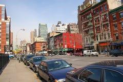 Vecindad en Manhattan Fotos de archivo libres de regalías