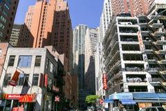 Vecindad en NY Fotos de archivo