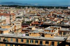 Vecindad en Roma Imagenes de archivo