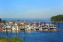 Vecindad flotante Fotos de archivo