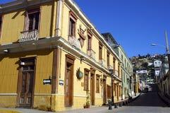 Vecindad inglesa de Coquimbo, Chile imágenes de archivo libres de regalías