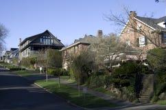 Vecindad reservada y segura Fotografía de archivo