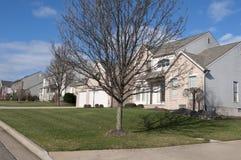 Vecindad residencial foto de archivo libre de regalías