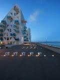 Vecindad residencial, Dinamarca Foto de archivo libre de regalías