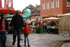 Veckomarknad Mainz Royaltyfria Bilder