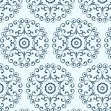 Vecnor uitstekend naadloos patroon, behang met royalty-vrije illustratie