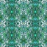 Vecor五颜六色的抽象无缝的样式 免版税库存图片