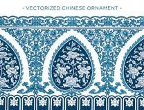 Vecorized kinesisk prydnad Royaltyfria Bilder